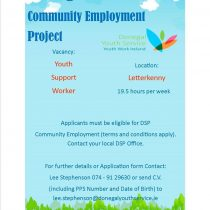 CE Youth Support Worker Opportunity