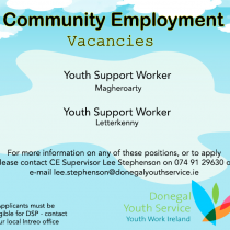 Youth Support Workers – Community Employment Positions Available!