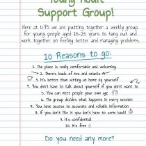 *New* Young Adult Support Group