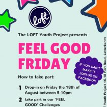 Feel Good Friday – This Friday (the 18th)!